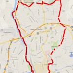 Walkable Asheville Map, homes close to downtown